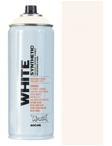 Montana White Ancient White Spray Paint - 400ml
