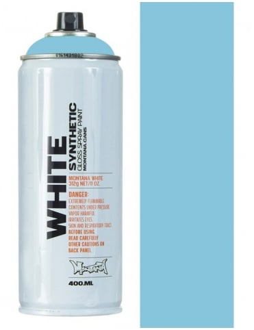 Montana White Arctica Spray Paint - 400ml