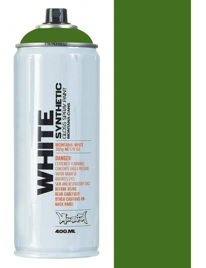 Montana White Cactus Spray Paint - 400ml