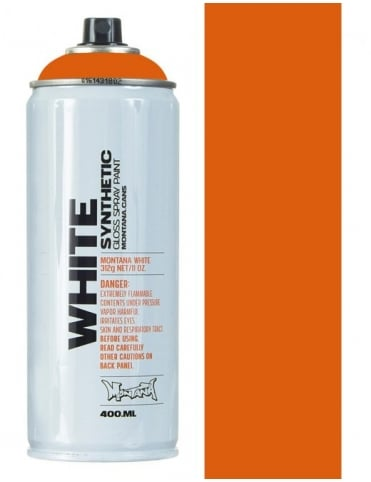 Montana White Campari Orange Spray Paint - 400ml