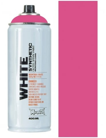 Montana White Fuchsia Spray Paint - 400ml