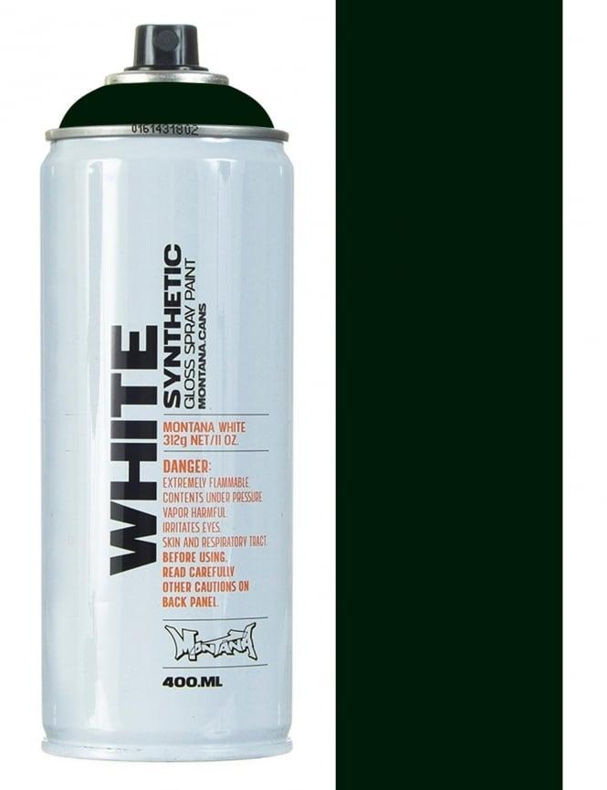 Montana White Greenblack Spray Paint - 400ml