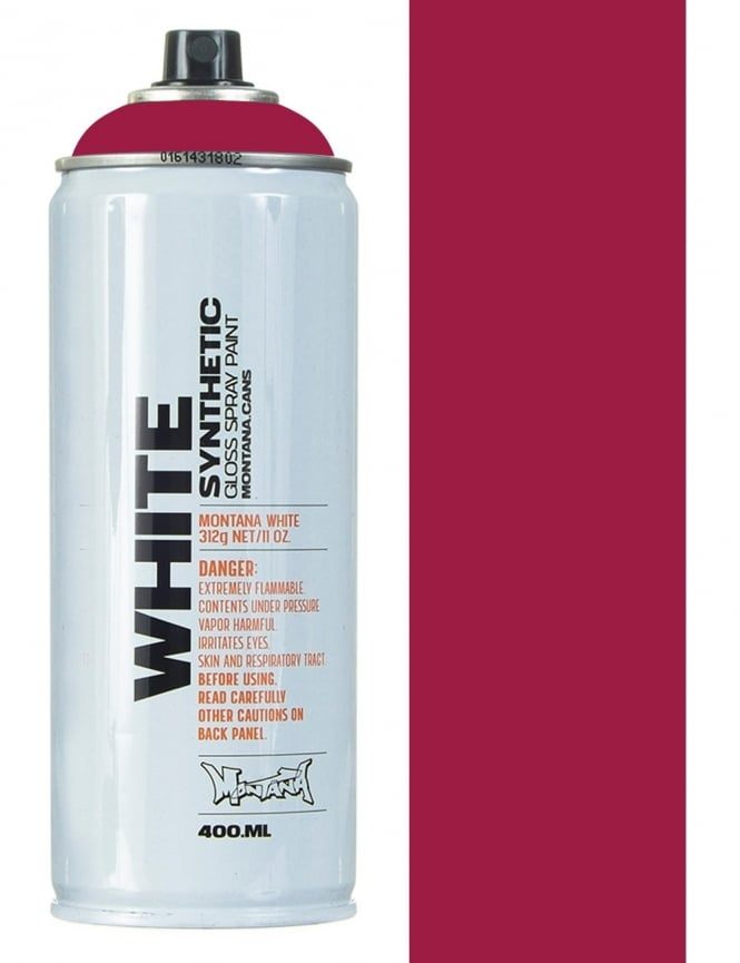 Montana White Hot Lips Spray Paint - 400ml