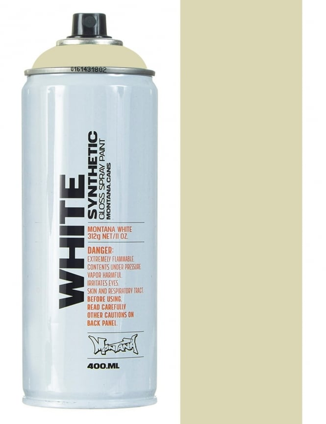 Montana White Ice Bear Spray Paint - 400ml