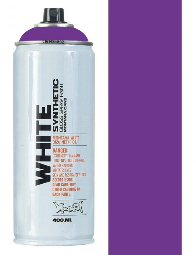 Montana White Kings Purple Spray Paint - 400ml