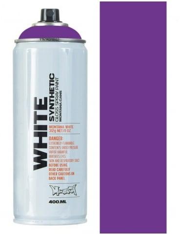 Montana White Kings Purple Spray Paint - 400ml