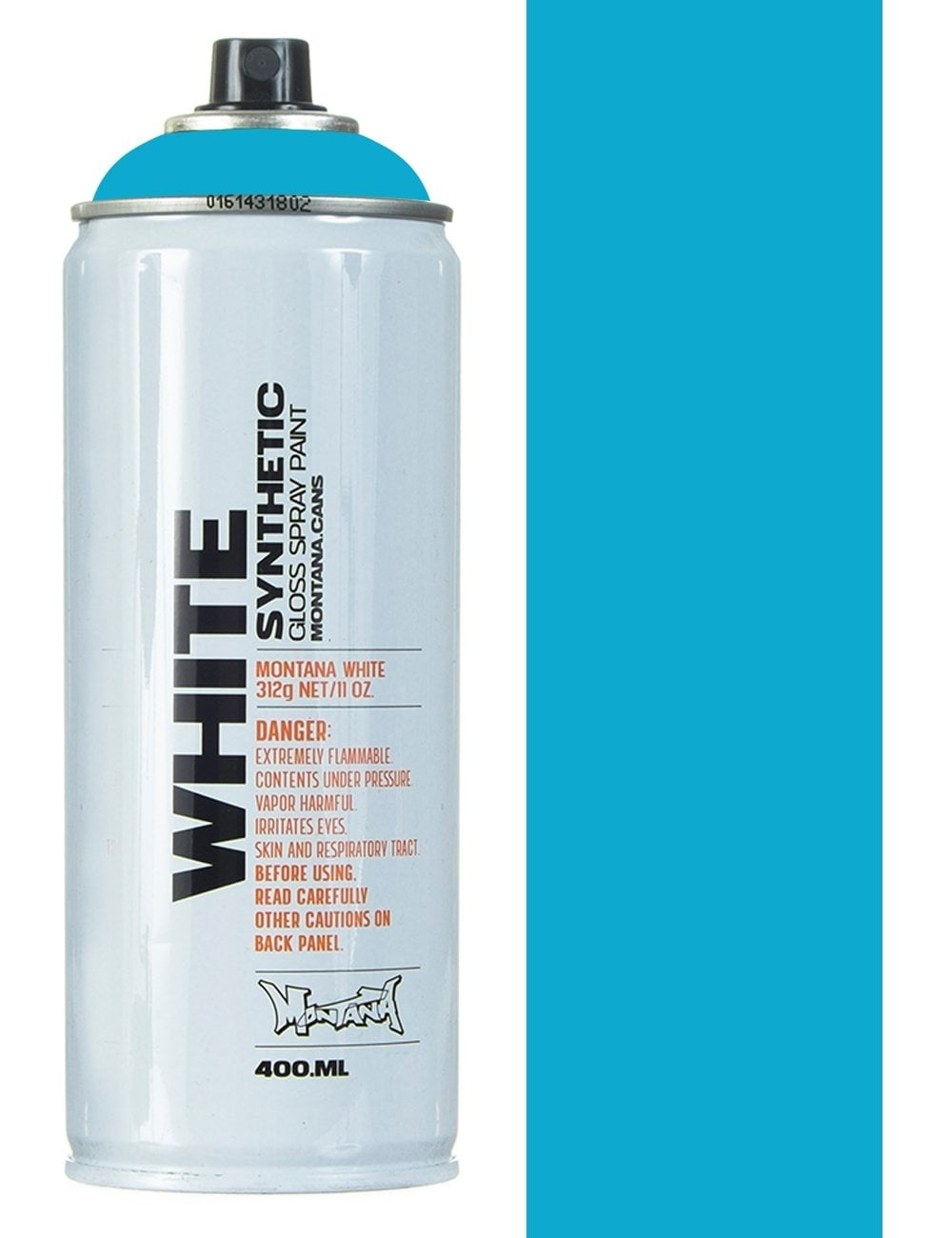 Montana White Light Blue Spray Paint 400ml Spray Paint