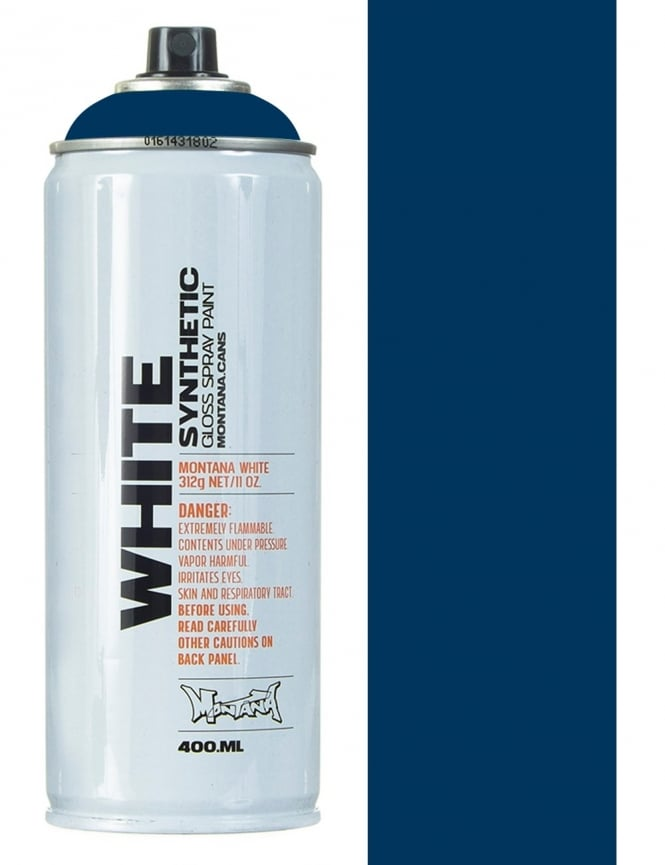 Montana White Night Blue Spray Paint - 400ml