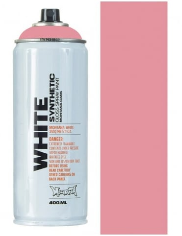 Montana White Pig Spray Paint- 400ml