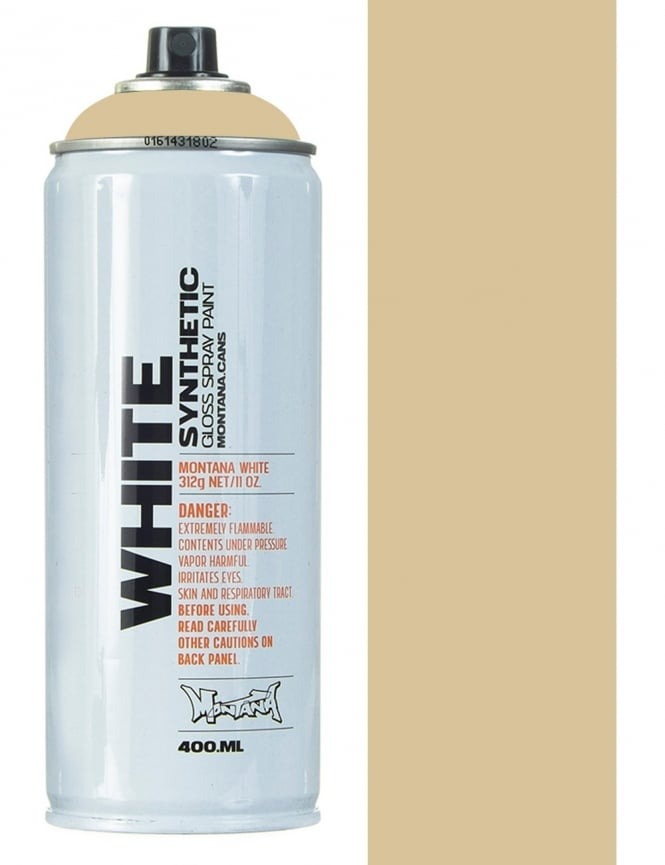 Montana White Rattlesnake Spray Paint - 400ml