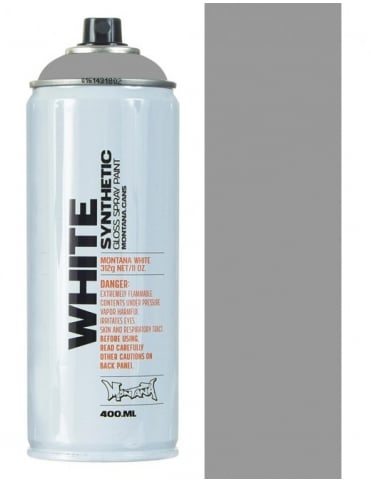 Montana White Silver Spray Paint - 400mll