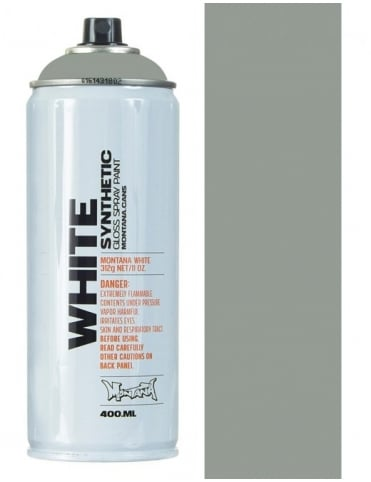 Montana White Street Spray Paint - 400ml