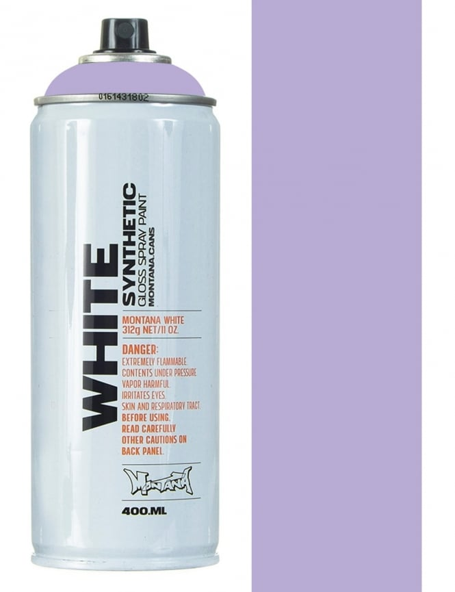 Montana White Sweet Violet Spray Paint - 400ml