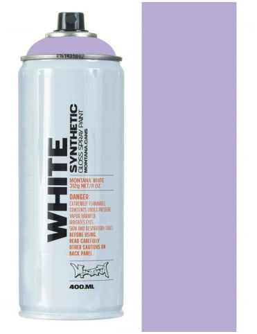 Montana White Sweet Violet Spray Paint - 400ml
