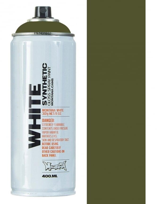 Montana White Wild Willy Spray Paint - 400ml
