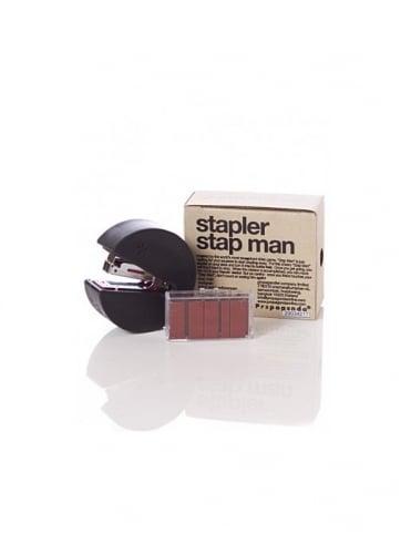 Mr P Propaganda Mr P Pacman Stapler - Black