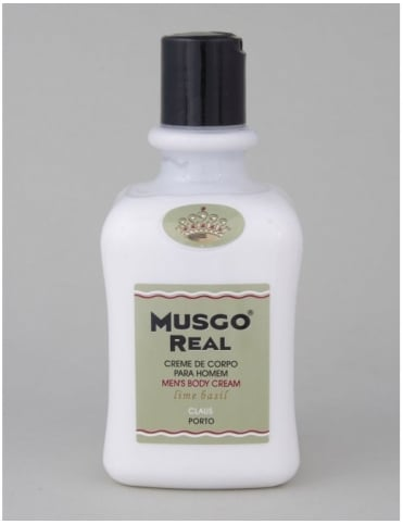 Musgo Real Body Cream - Lime/Basil