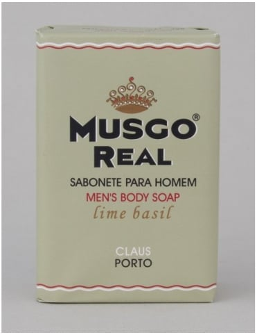 Musgo Real Body Soap - Lime and Basil