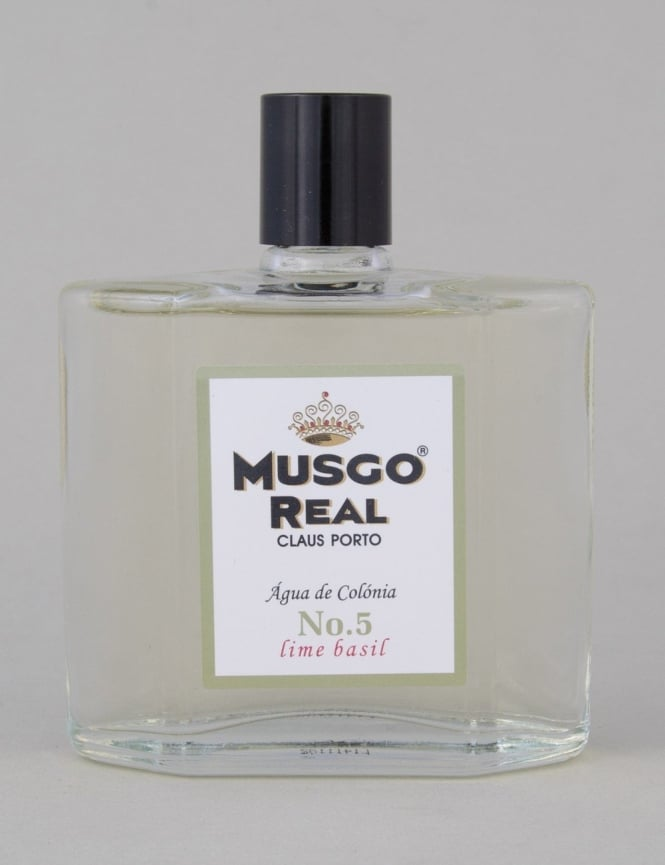Musgo Real Cologne No.5 - Lime Basil