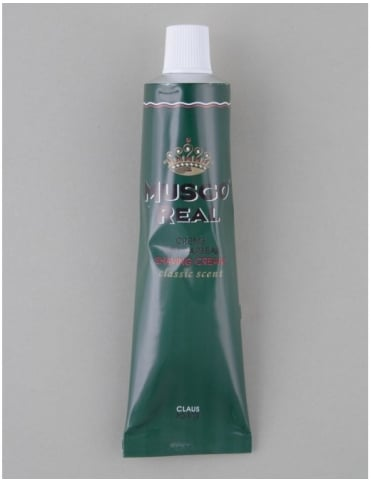 Musgo Real Shaving Cream Tube - Classic Scent (100ml)