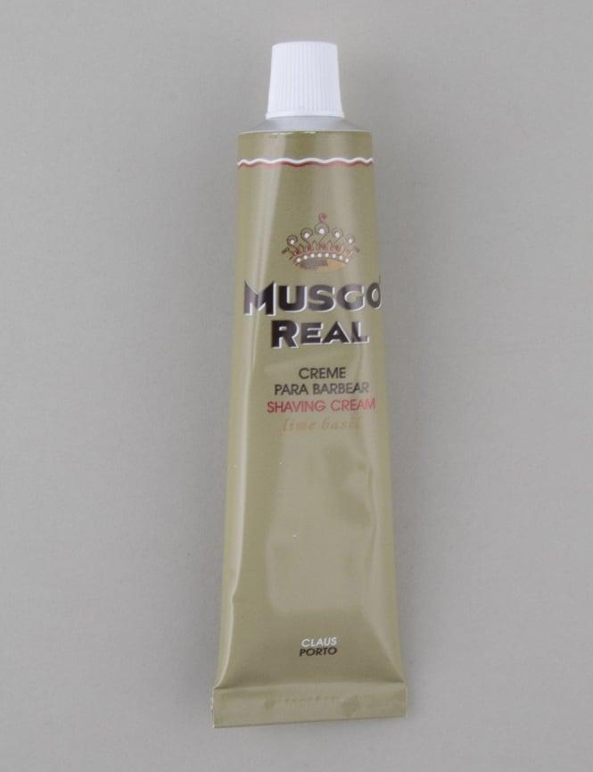 Musgo Real Shaving Cream Tube - Lime/Basil (100ml)