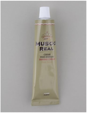 Musgo Real Shaving Cream Tube - Lime/Basil (100ml)