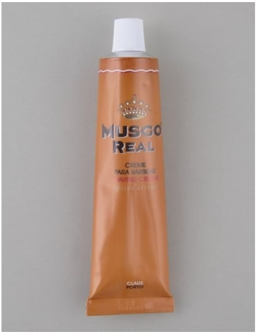 Musgo Real Shaving Cream Tube - Spiced Citrus (100ml)