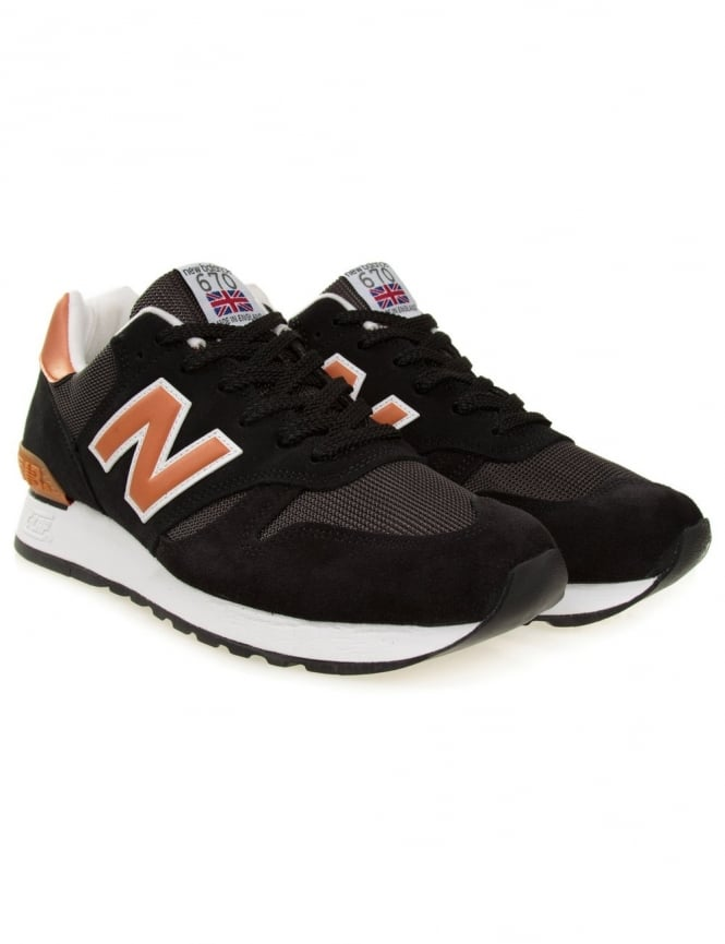 New Balance M670SKO - Black/Tan