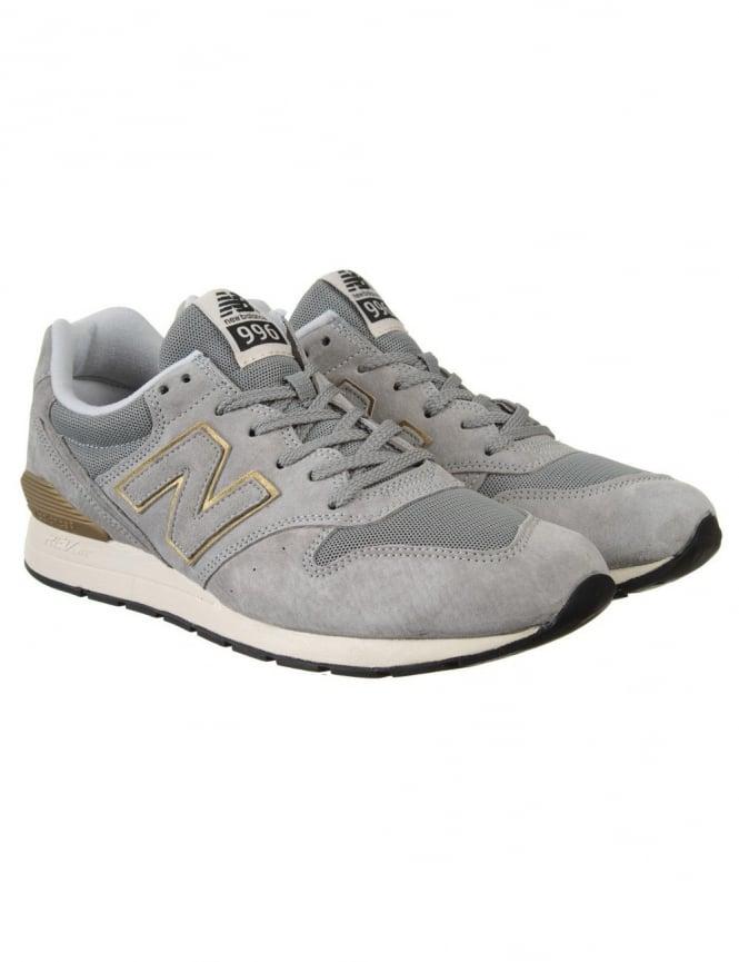 New Balance MRL996HA Shoes - Grey/Gold