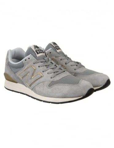 New Balance MRL996HA Shoes - Grey/Gold