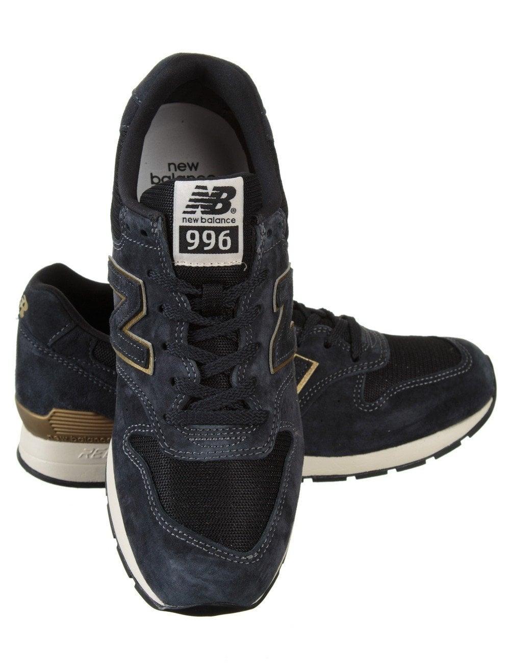 MRL996HB Shoes - Dark Navy/Gold