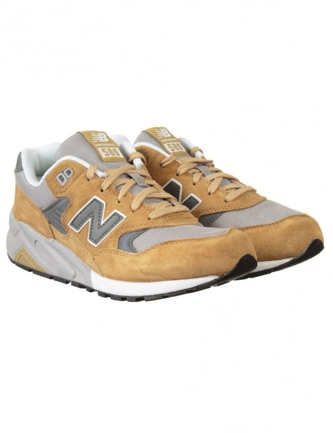 New Balance MRT580BE Shoes - Tan/Grey