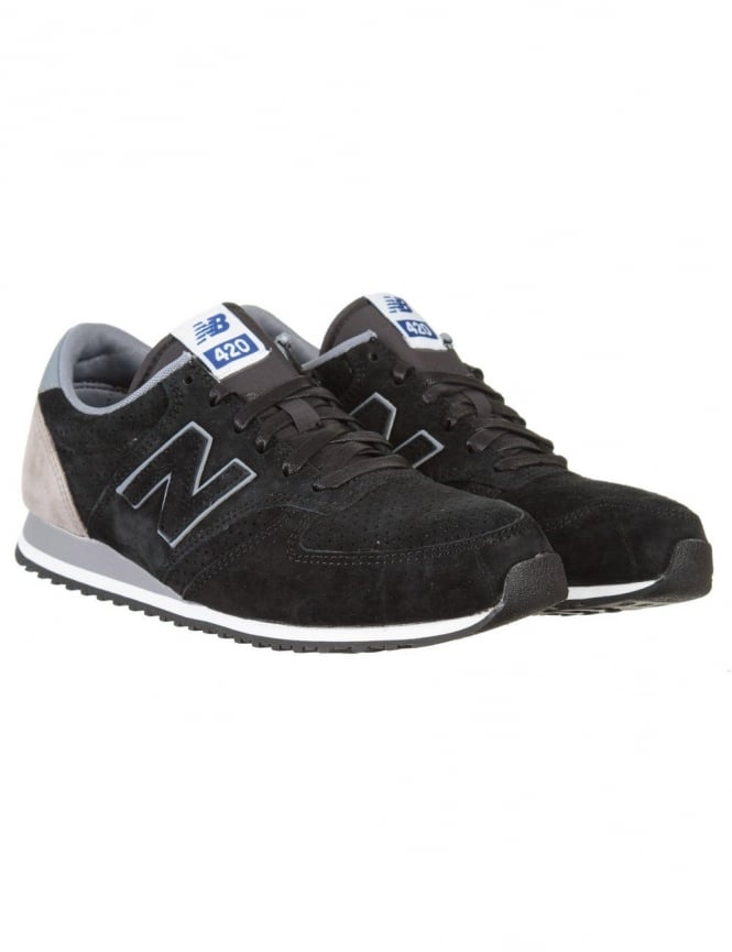 New Balance U420PPY Shoes - Black/Grey