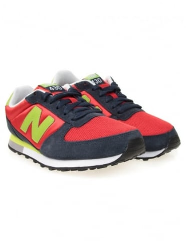 U430NRL Shoes - Red/Black