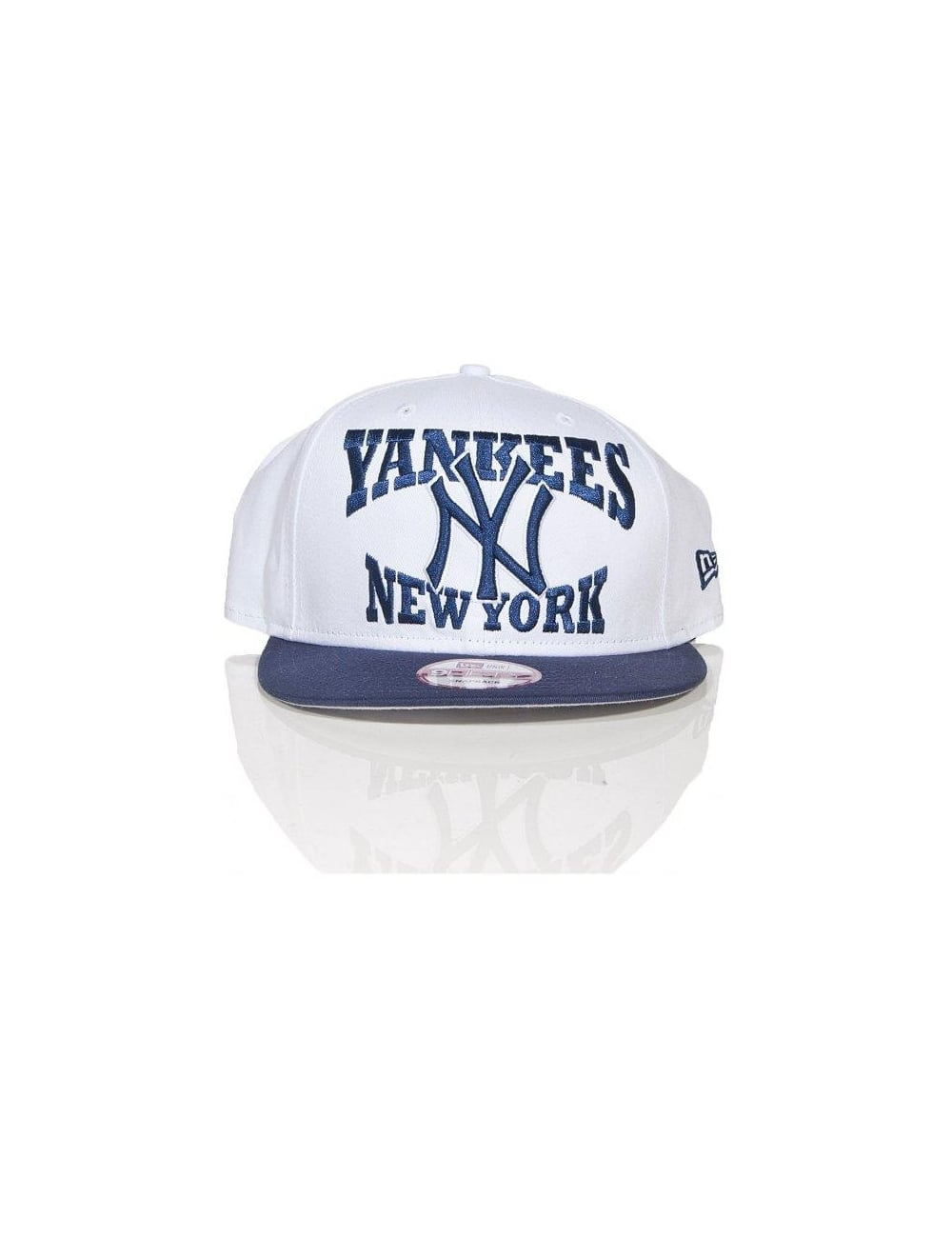 New Era 9Fifty - New York Yankees - White Blue - Hat Shop from Fat ... 57994ee5b3586