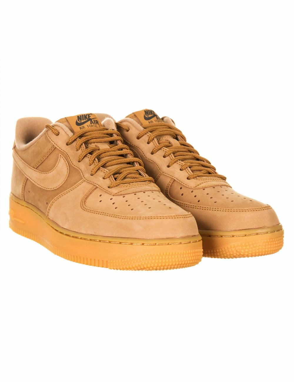 newest 8635b 264d7 Nike Air Force 1 07 WB Trainers - Wheat