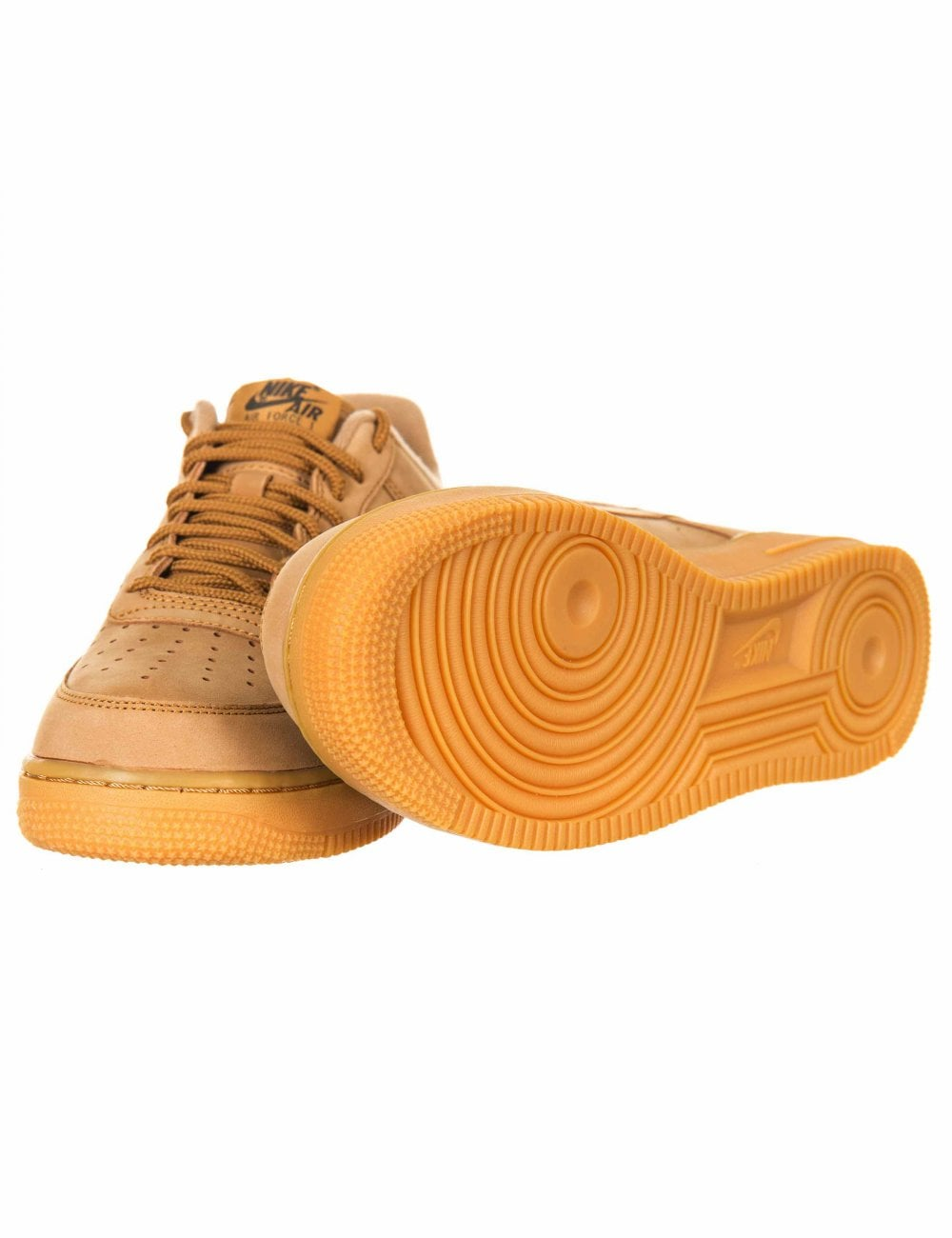 new style e3292 f5466 Air Force 1 '07 WB Trainers - Wheat