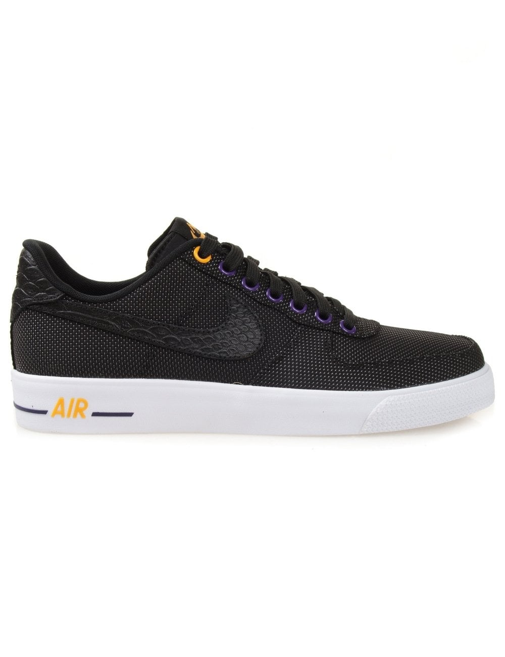 99cda9726bc4 Nike Air Force 1 AC Prm QS - Black - Trainers from Fat Buddha Store UK