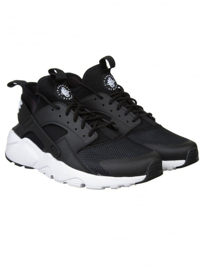 Nike Air Huarache Ultra Shoes - Black/White