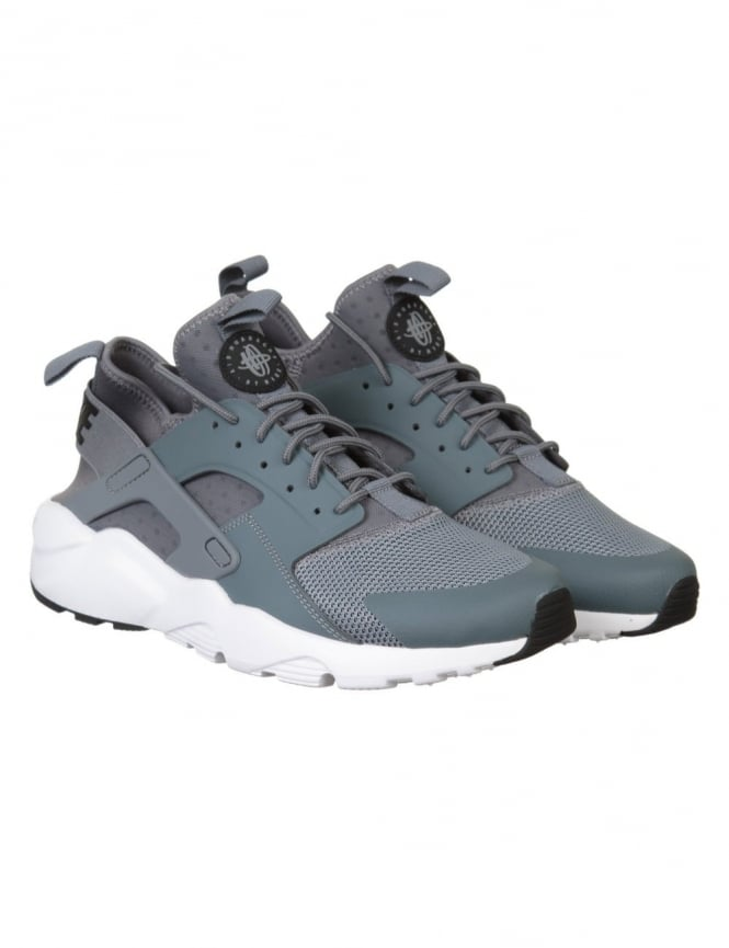 Nike Air Huarache Ultra Shoes - Cool Grey/White