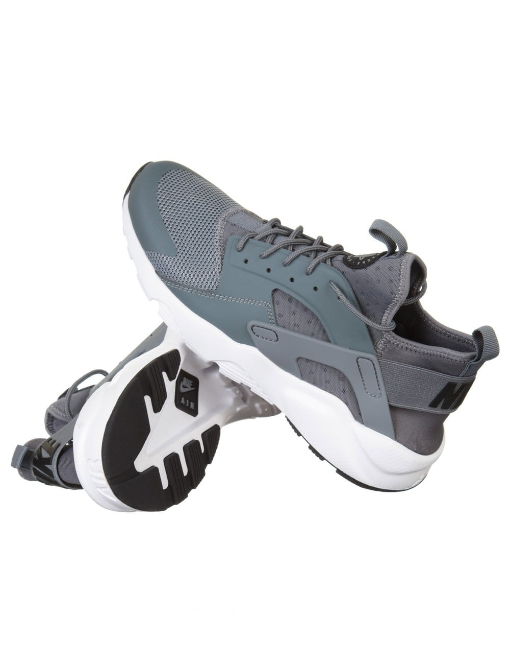 Nike Air Huarache Ultra Shoes - Cool Grey White - Footwear from Fat ... dad97524f