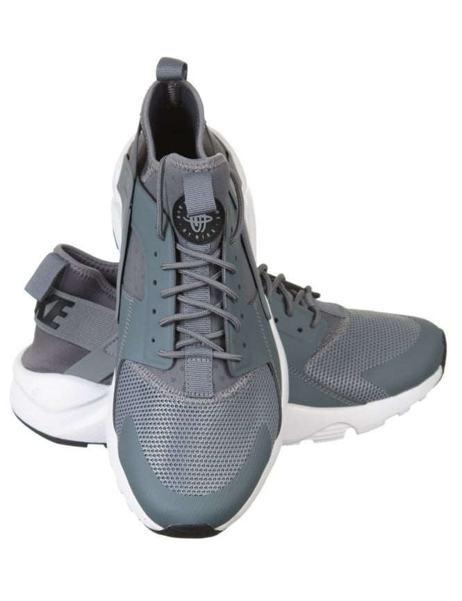 c052f34d72148 Nike Air Huarache Ultra Shoes - Cool Grey White - Footwear from Fat ...