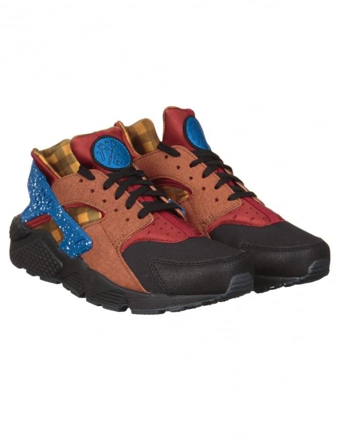 Nike Air Huarache Ultra Shoes - Dark Cayenne/Gold (Campfire Pack)