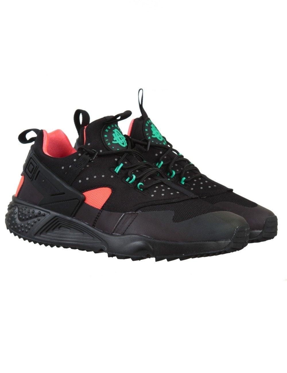 uznane marki jakość buty do separacji Air Huarache Utility Premium Shoes - Black/Black-Bright Crimson