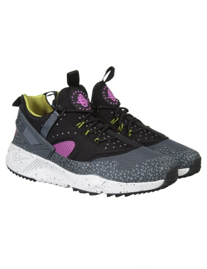 Nike Air Huarache Utility Shoes - Medium Berry