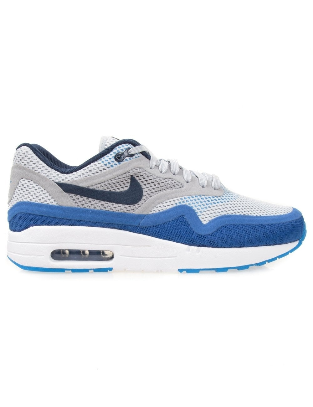 1d435bcfe075 Nike Air Max 1 Breathe - White Mid Navy - Footwear from Fat Buddha ...
