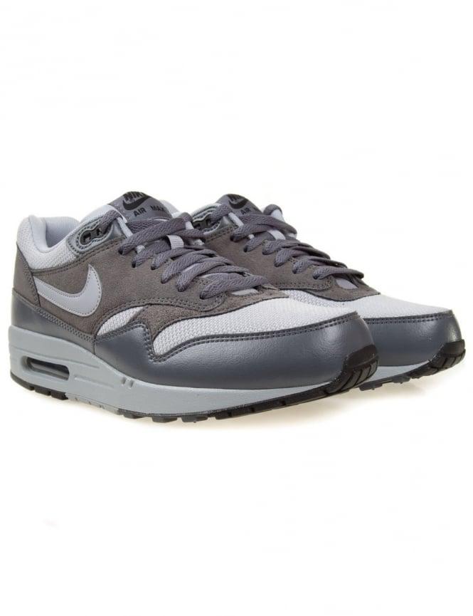 Nike Air Max 1 Essential - Wolf Grey/Dark Grey
