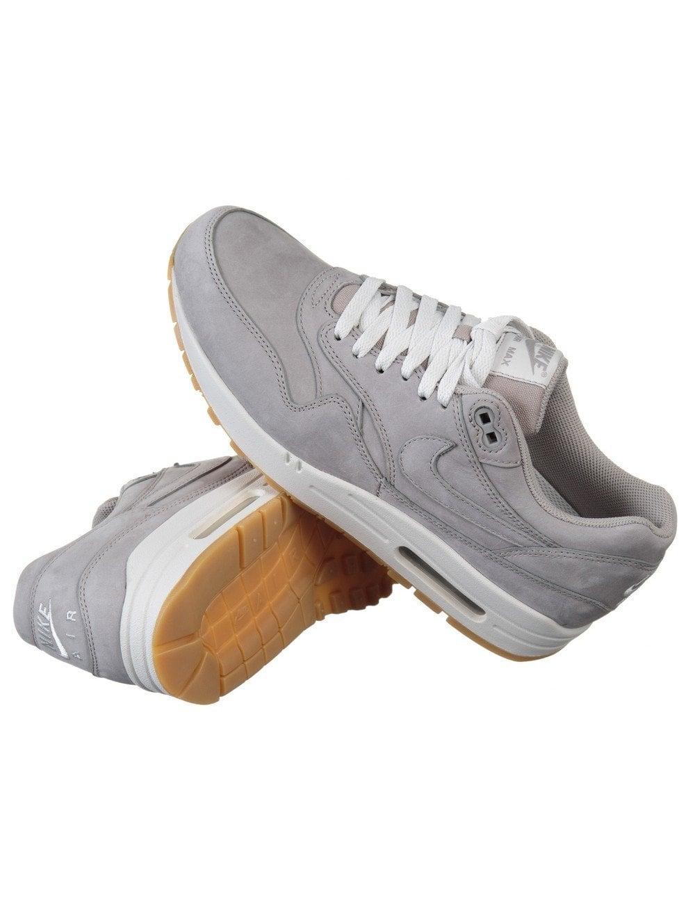 Air Max 1 Ltr Shoes Medium Grey (Winter Pack)