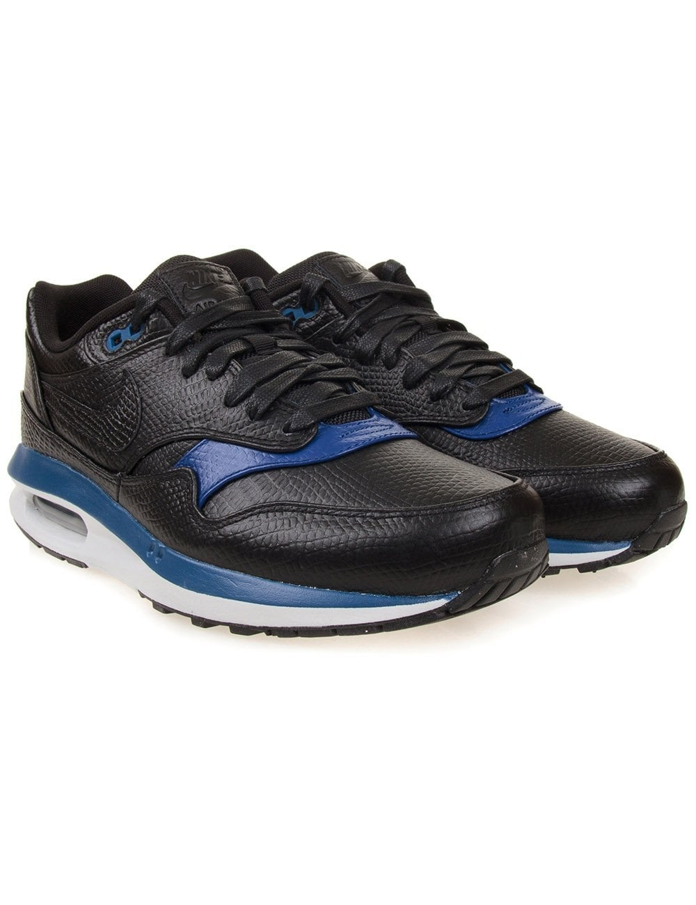 nike air max 1 lunar deluxe black footwear from fat. Black Bedroom Furniture Sets. Home Design Ideas