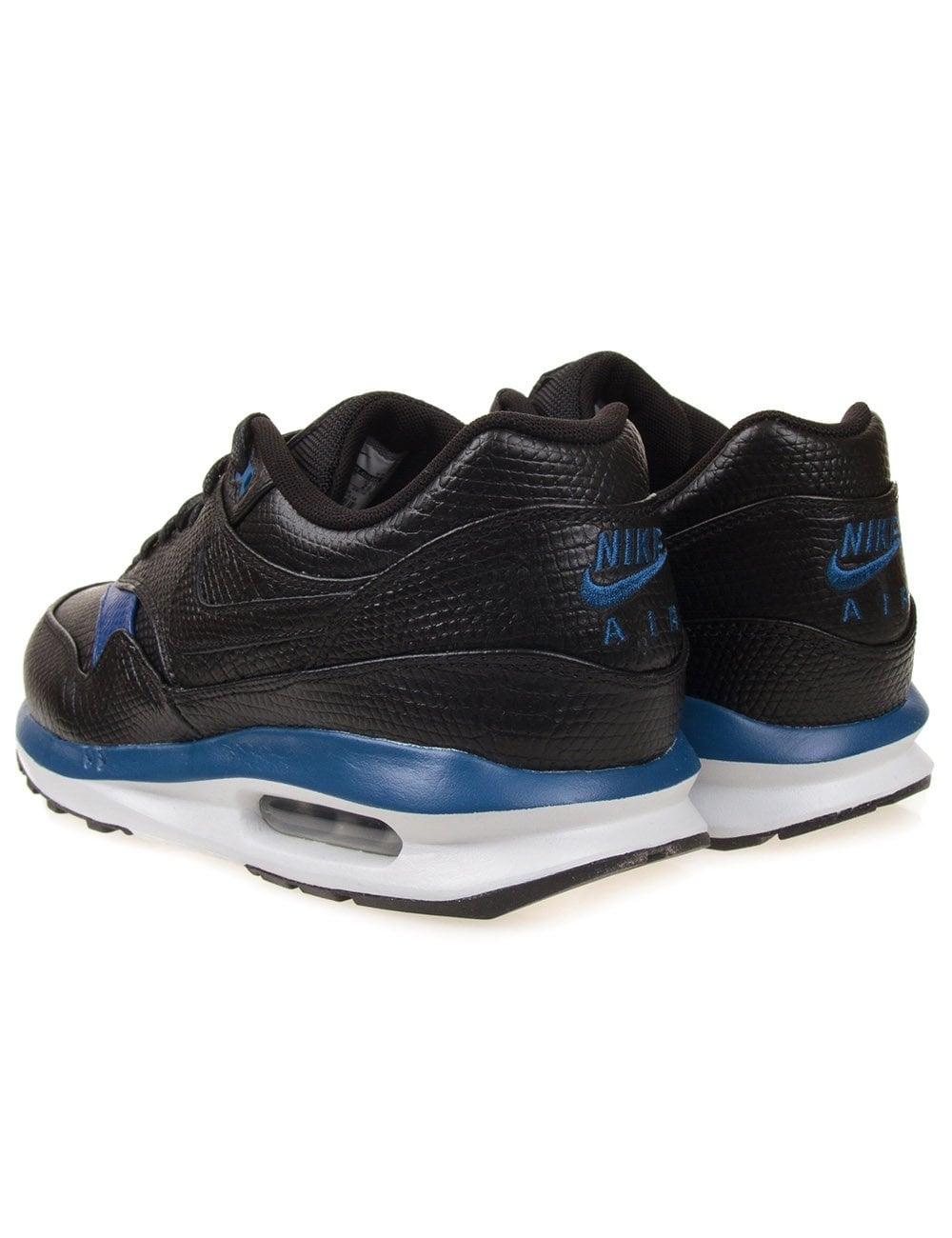 nike air max 1 lunar deluxe black nike from fat buddha. Black Bedroom Furniture Sets. Home Design Ideas